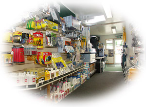 Visit our comprehensively stocked shop
